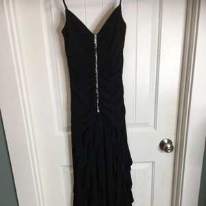 Cach'e Black Evening Gown